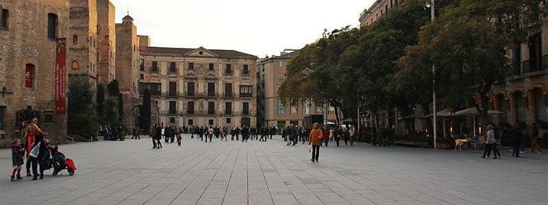 plazas de Barcelona