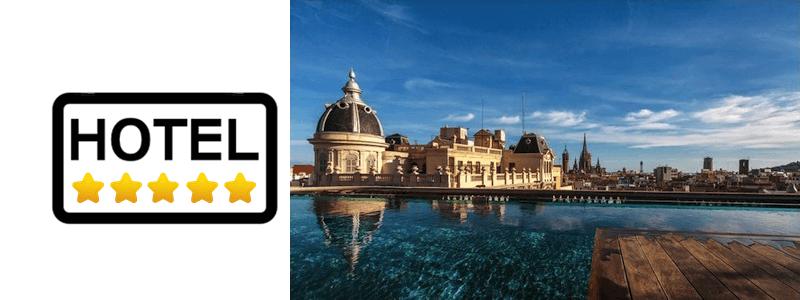 hoteles 5 estrellas Barcelona