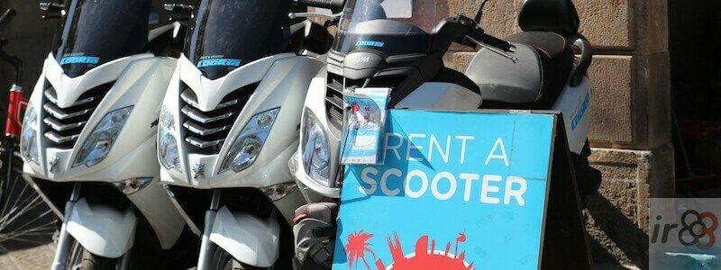 alquiler motos y scooters Barcelona