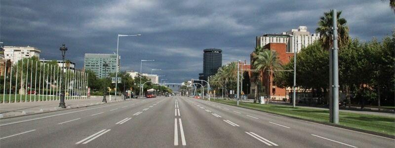 Barcelona por carretera