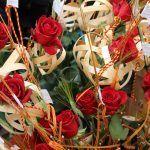 confección rosas Sant Jordi