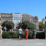 estatuas Plaza Catalunya