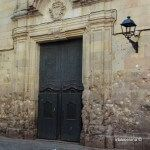 metralla de bomba fachada iglesia