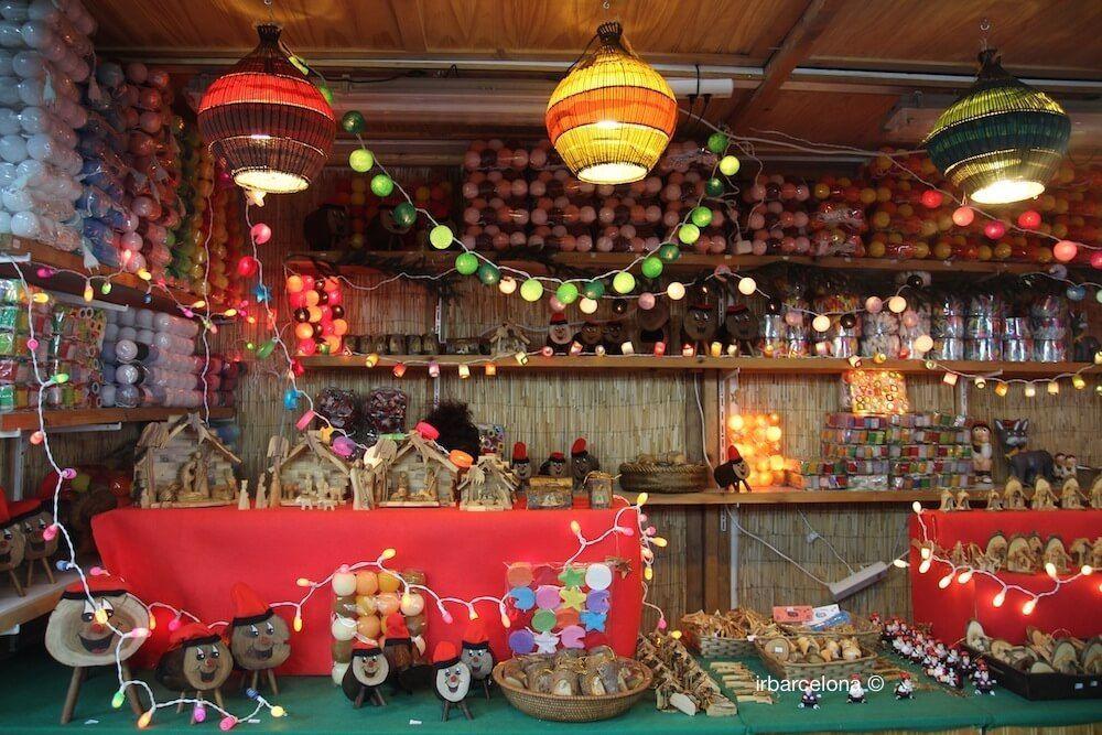 parada mercado Navidad