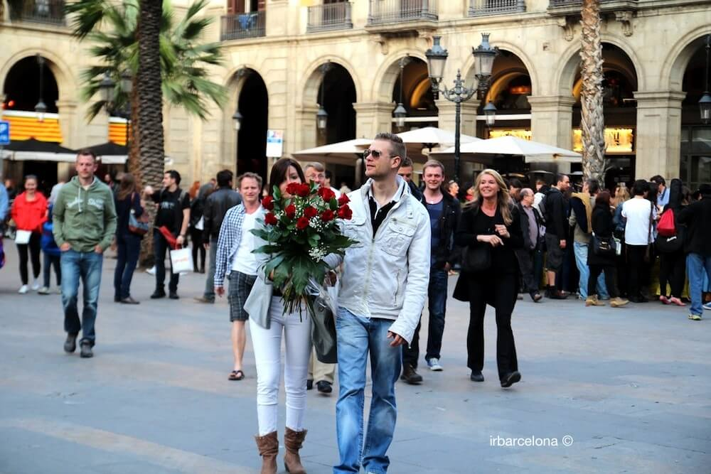 couple Sant Jordi