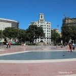 centro de la Plaza Catalunya