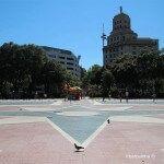 Rosa de los Vientos suelo Plaza Catalunya
