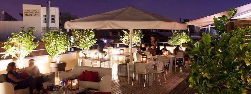 terraza Setè Cel Hotel América
