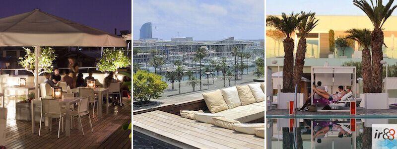 terrazas hoteles Barcelona