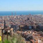 vistas de Barcelona desde los Búnkers