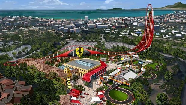 entradas PortAventura Park + Ferrari Land