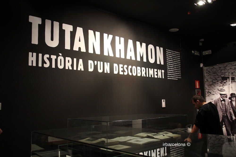 exposición Tutankhamon