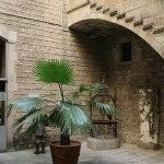 patio interior Museo Marès