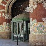 antigua entrada del Palau de la Música Catalana