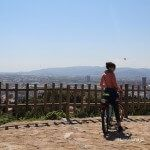 ciclista Mirador del Migdia