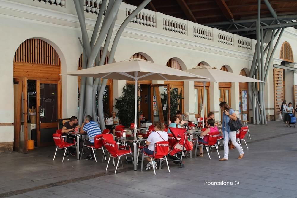 terraza Cuines Santa Caterina