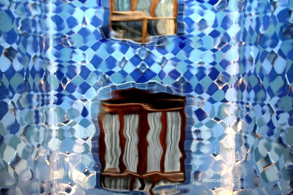 efectos ópticos Casa Batlló