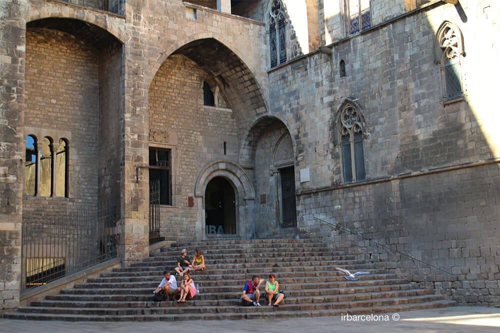escaleras Palacio Real Mayor