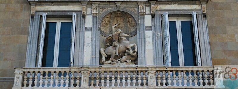 fachada Palau Generalitat Catalunya