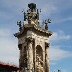 fuente monumental plaza España