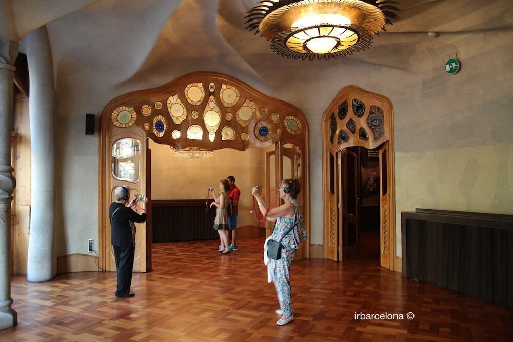 noble floor Casa Batlló