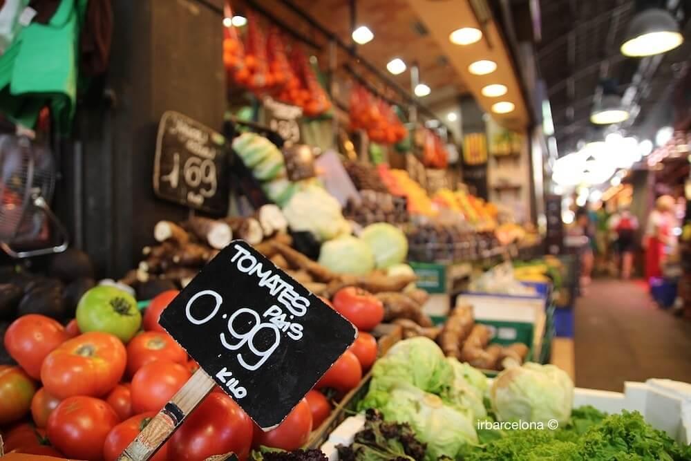 mercato La Boqueria