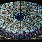 vidriera cúpula