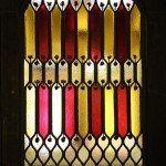 vidriera del Palau Güell