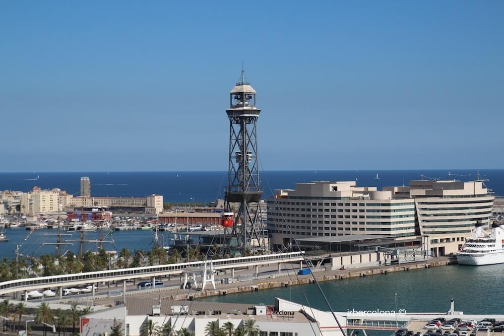 vistas Aeri del Port