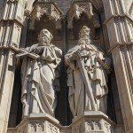 esculturas fachada Catedral de Barcelona