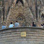 fachada del nacimiento de la Sagrada Familia