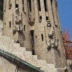 figuras en las torres de la Sagrada Familia