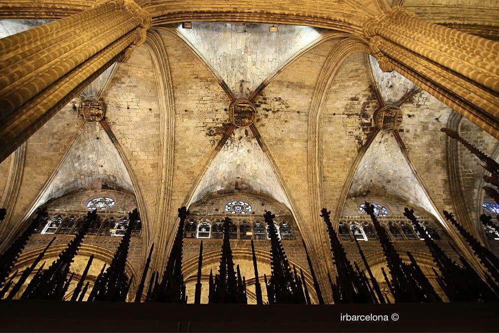 tetto della Cattedrale di Barcellona