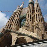 fachada de la pasión Sagrada Familia