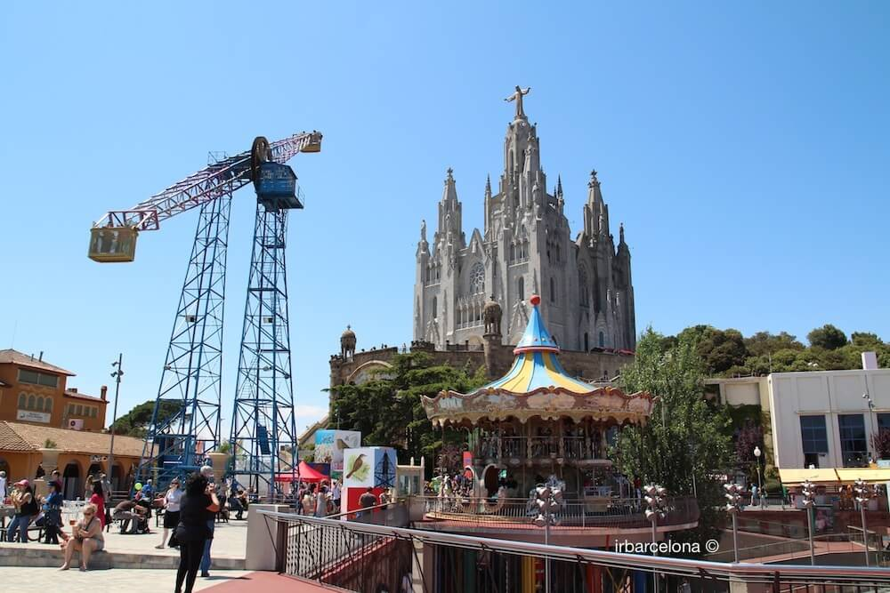 Temple of the Sacred Heart of Jesus Tibidabo Barcelona  irBarcelona