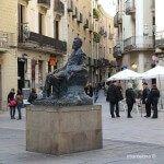 escultura de Àngel Guimerà