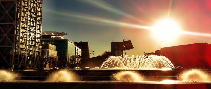 Plaza Voluntaris Olímpics Barcelona