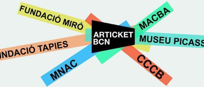 Articket BCN Museos Arte