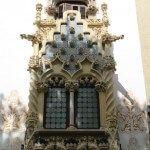 vidriera fachada Casa Macaya