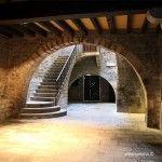 entrada palacio medieval