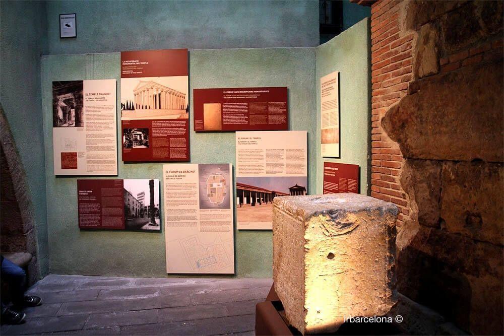 explanations Columns Augustus Temple