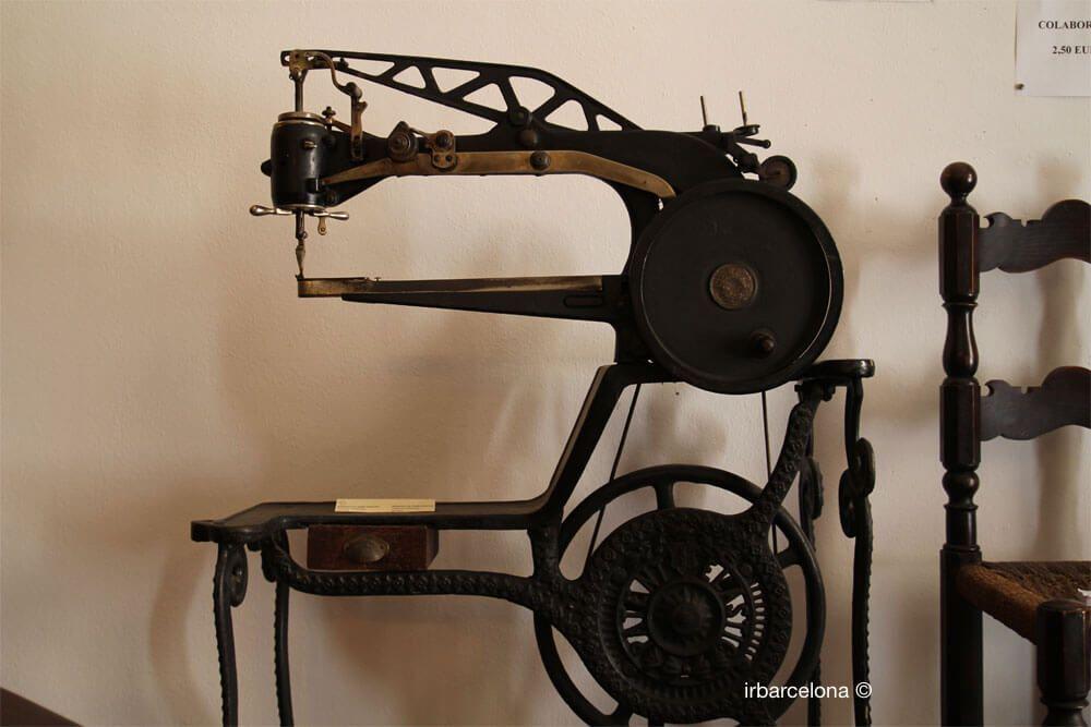 máquina elaboración de zapatos
