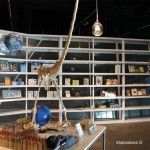 tienda del Museu Blau