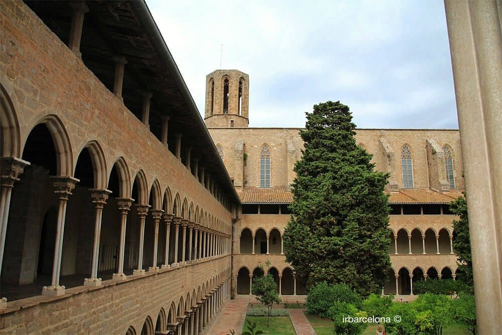 cloister and bell of Monastery
