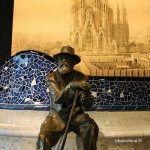 escultura Antoni Gaudí