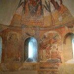 pintura ábside Museo Diocesano