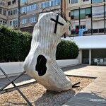 Calcetín, de Antoni Tàpies