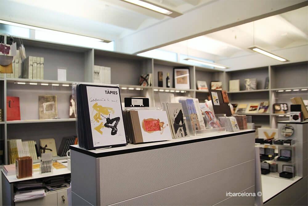 tienda Fundación Antoni Tàpies