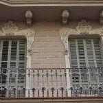 detalles fachada Rambla Poblenou