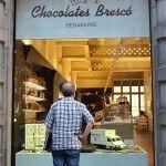escaparate Chocolates Brescó